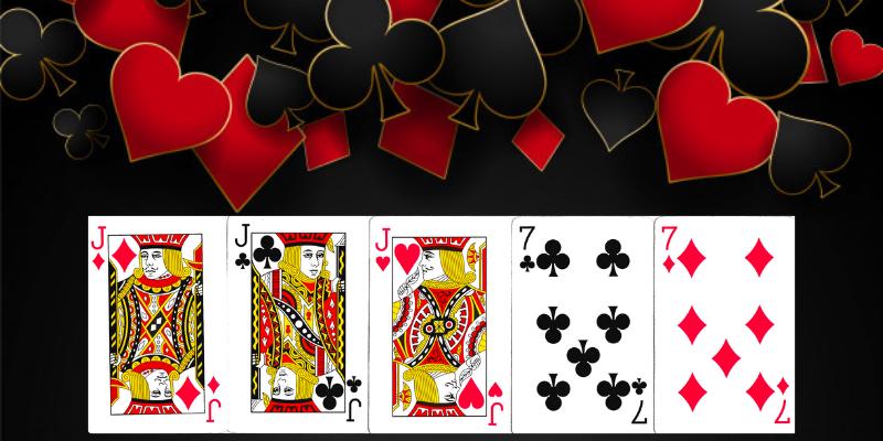 Pilnos trobos pokerio kombinacija