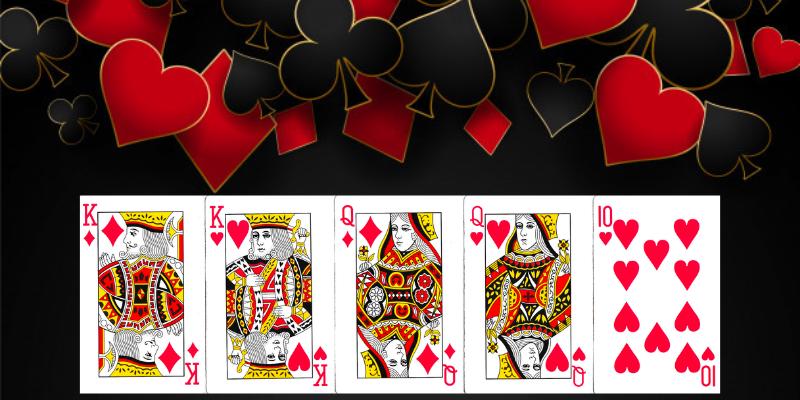 Poker kombinacijos - dvi poros