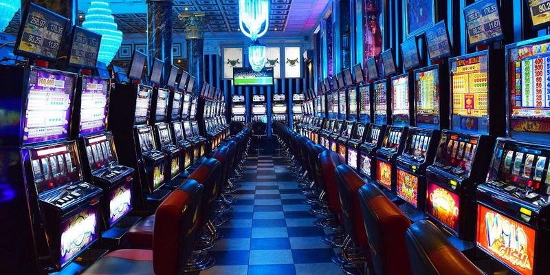 Patalpa su daug slotų - casino lošimo automatai internete online nemokamai