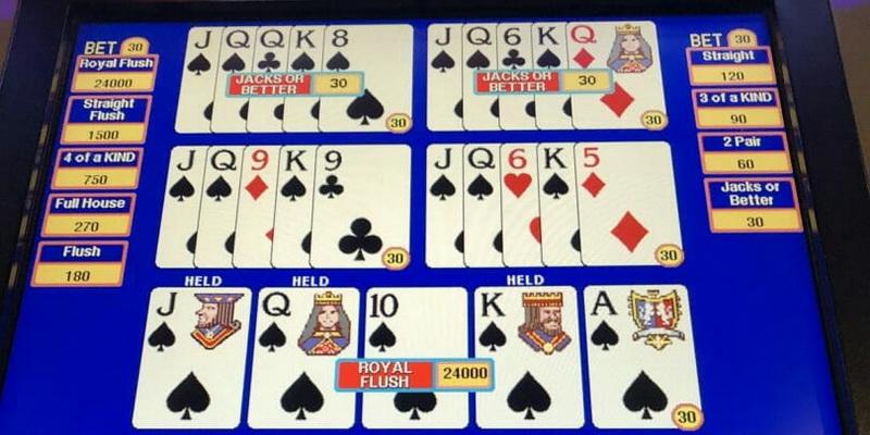 Video pokeris ir jo kortos