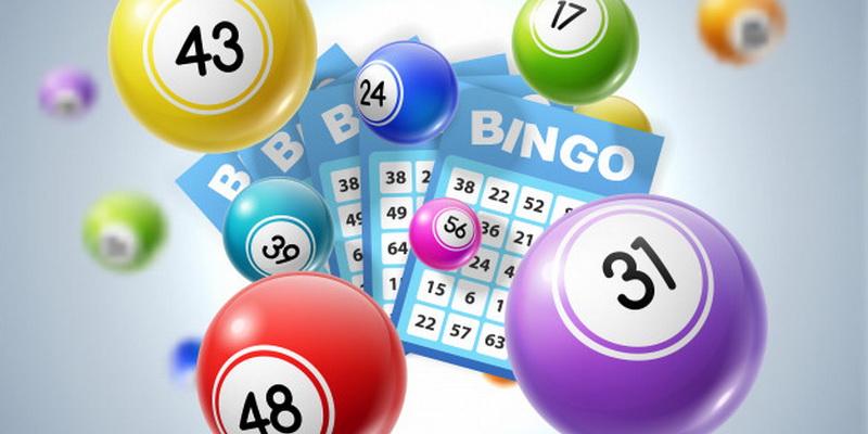 Bingo loto stalo žaidimas taisyklės - kamuoliukai ir kortelės