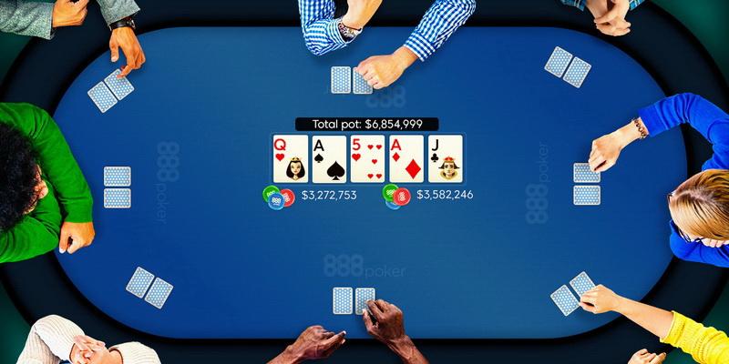 Pokerio stalas - 888poker Lietuva naujiems klientams siūlomos akcijos. 888poker premijos kodas yra oficialiame jų puslapyje.