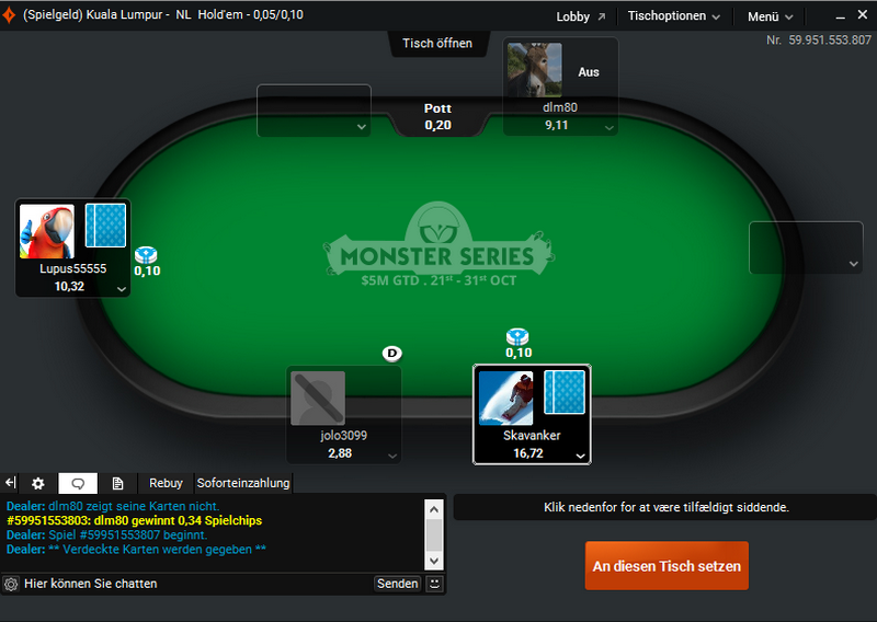 Ekrane matome Party Poker - PartyPoker atsiliepimai, apžvalga, registracija